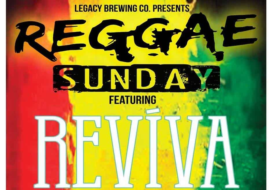 Reggae Sundays at Legacy Brewing Co.