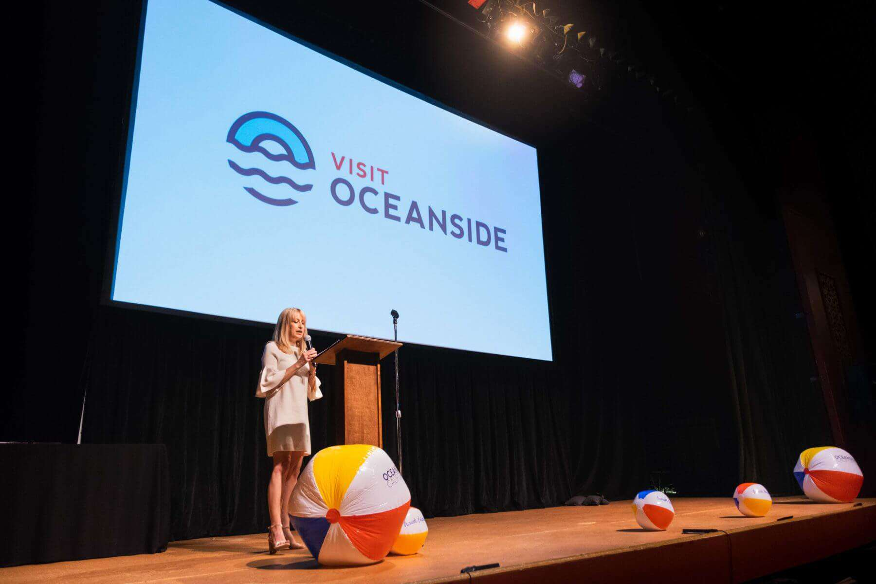 Visit Oceanside CEO Leslee Gaul - Tourism Summit 2018