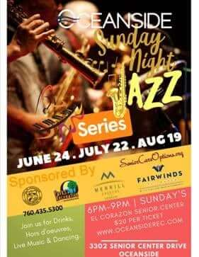 Jazz Concert - Gregory Michael - Visit Oceanside