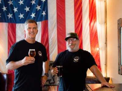 Legacy Brewing Co-owners Mark Mericle and JJ Snyder