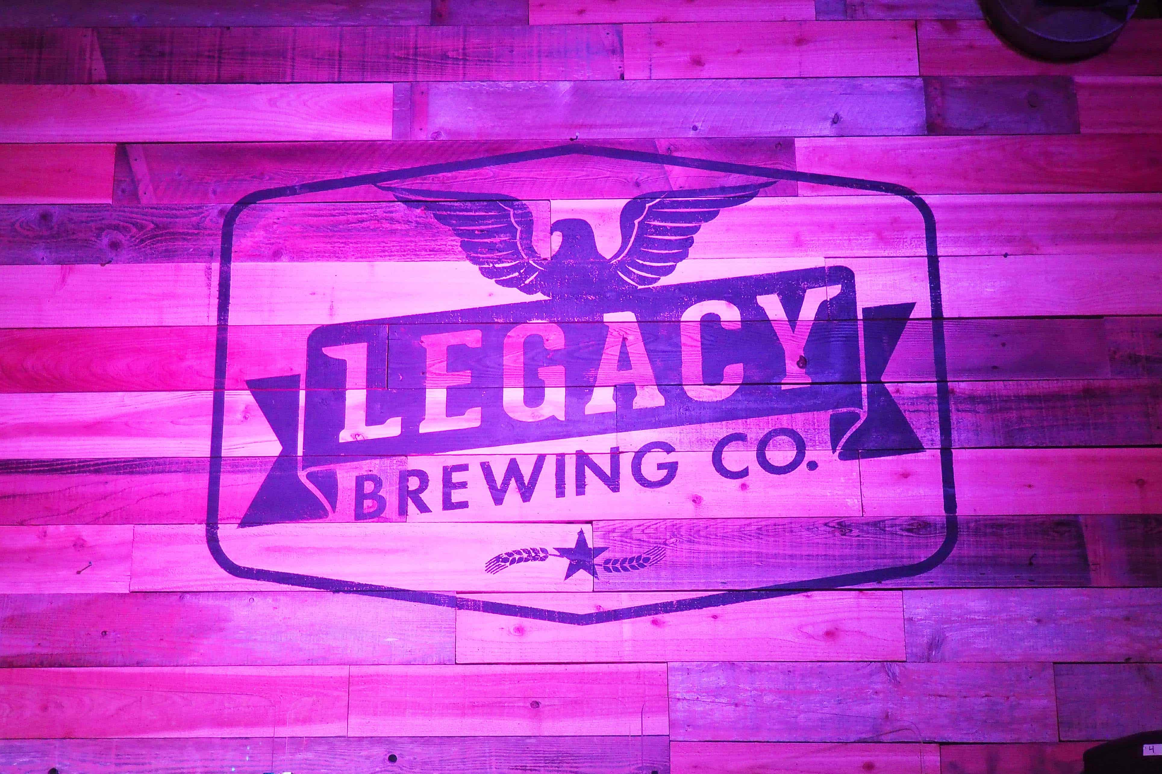 Legacy Brewing Company Illuminated Wall