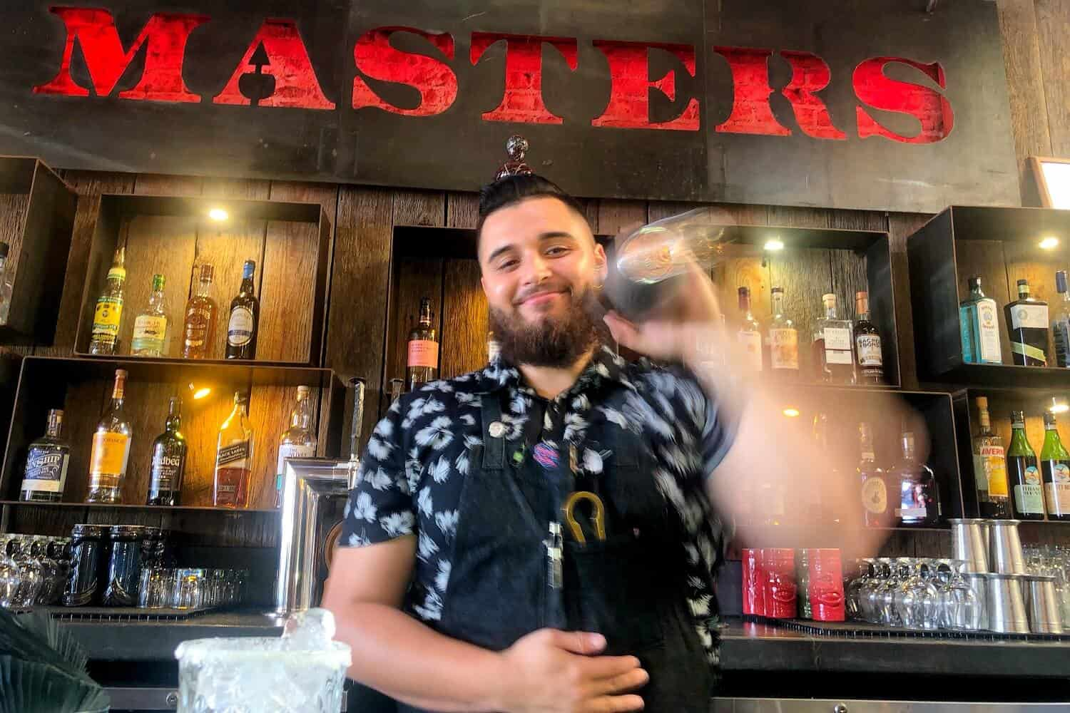 Mixologist Tony Juarez at Your Service! Masters Kitchen and Cocktail