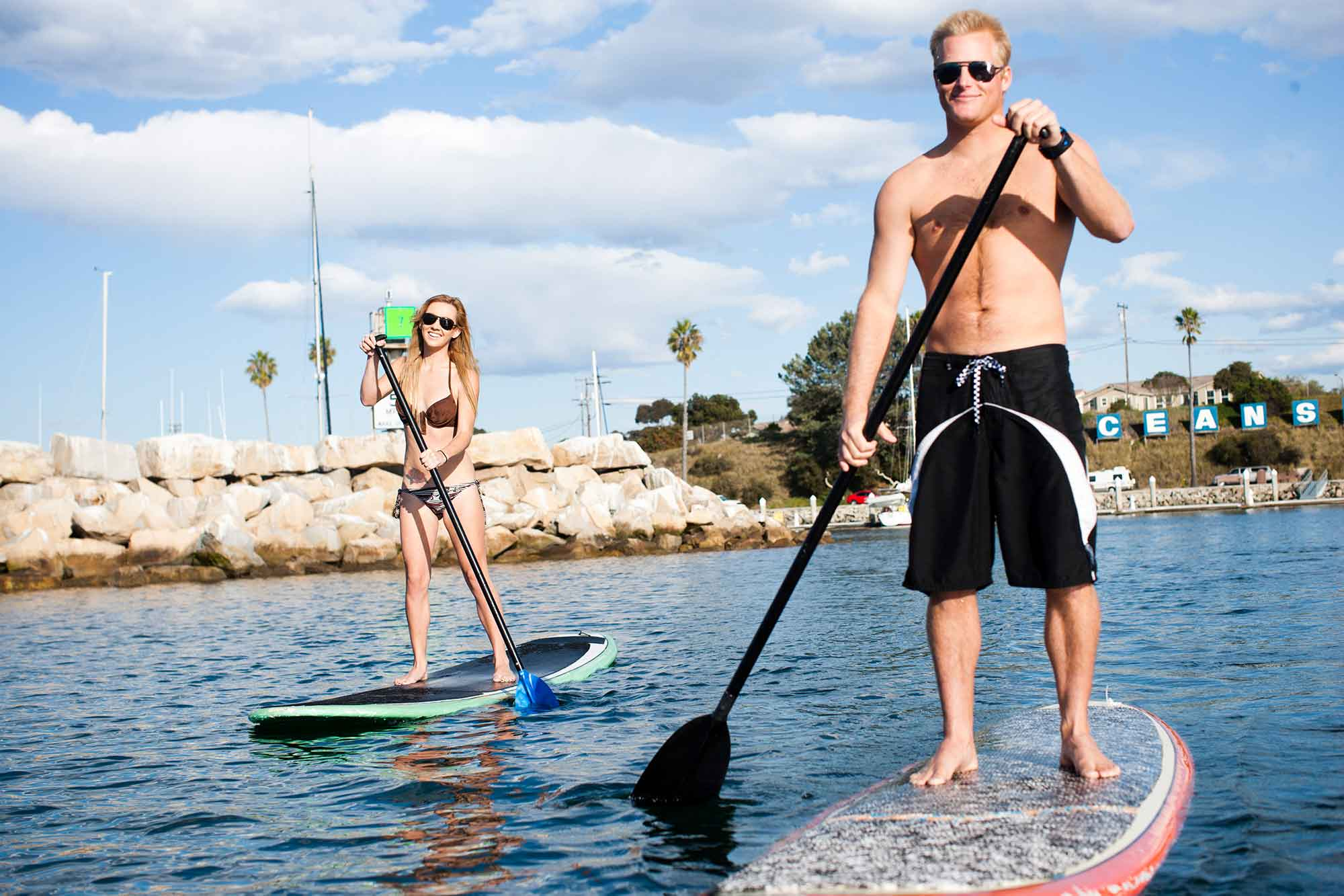 Stand Up Paddleboard at the Harbor