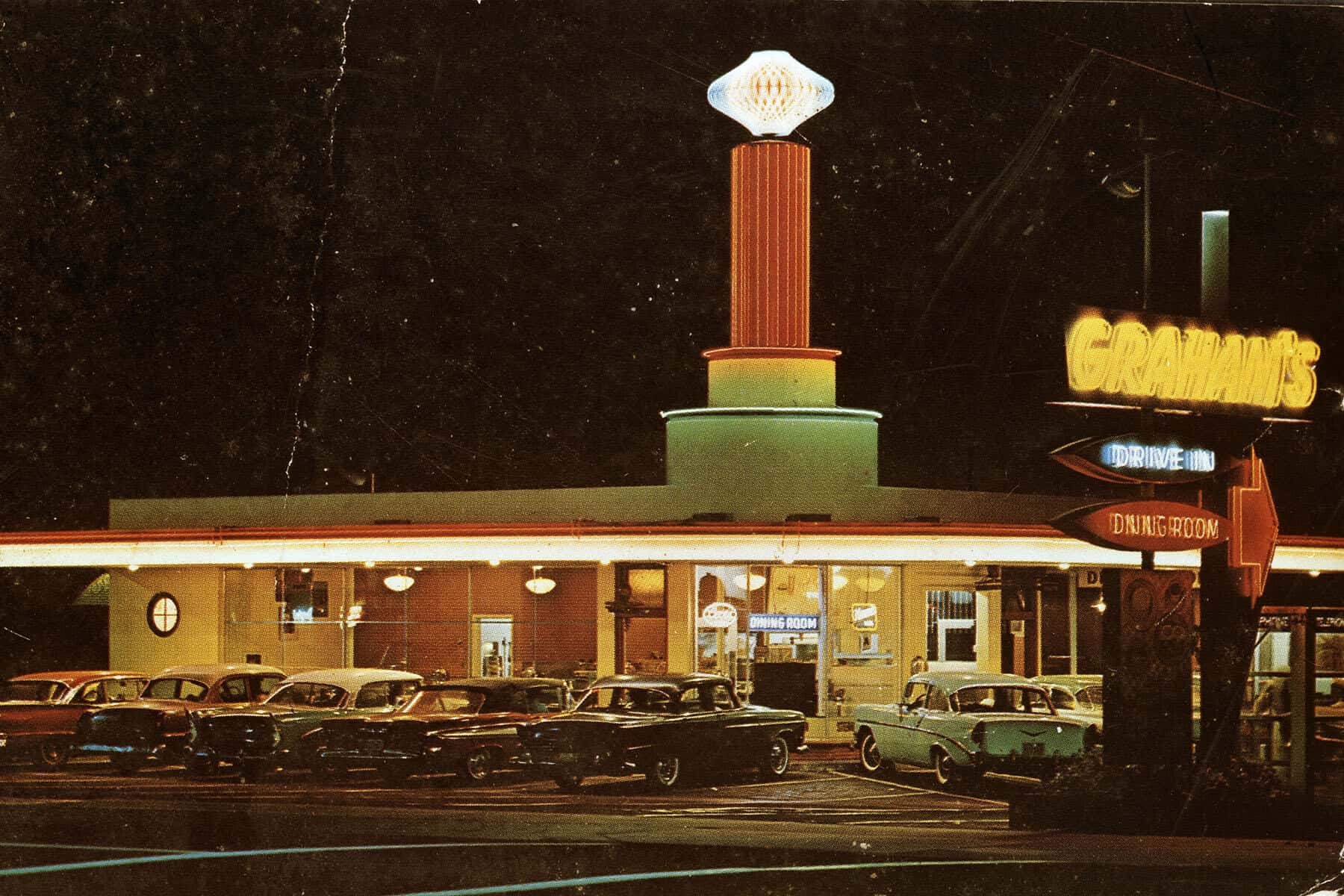 Graham's Drive-In at Seventh and Hill Street (1957) | Oceanside Historical Society