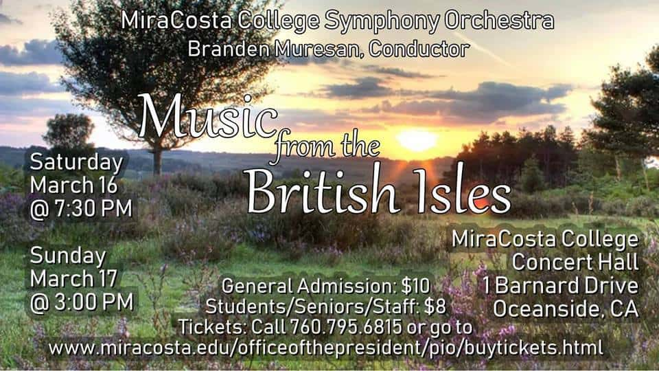 Music from the British Isles MiraCosta College