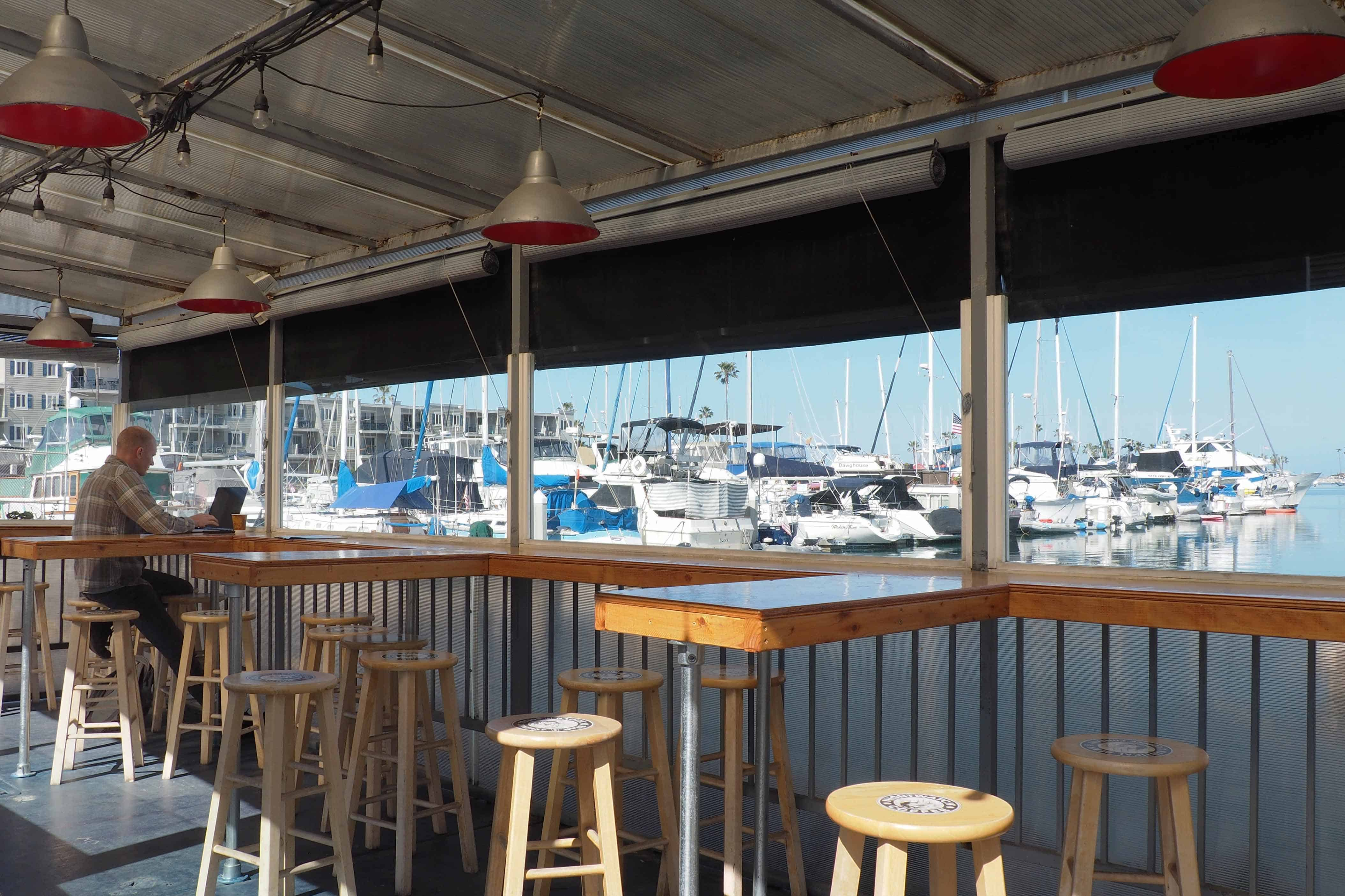 Nautical Bean Coffee Company Outdoor Seating