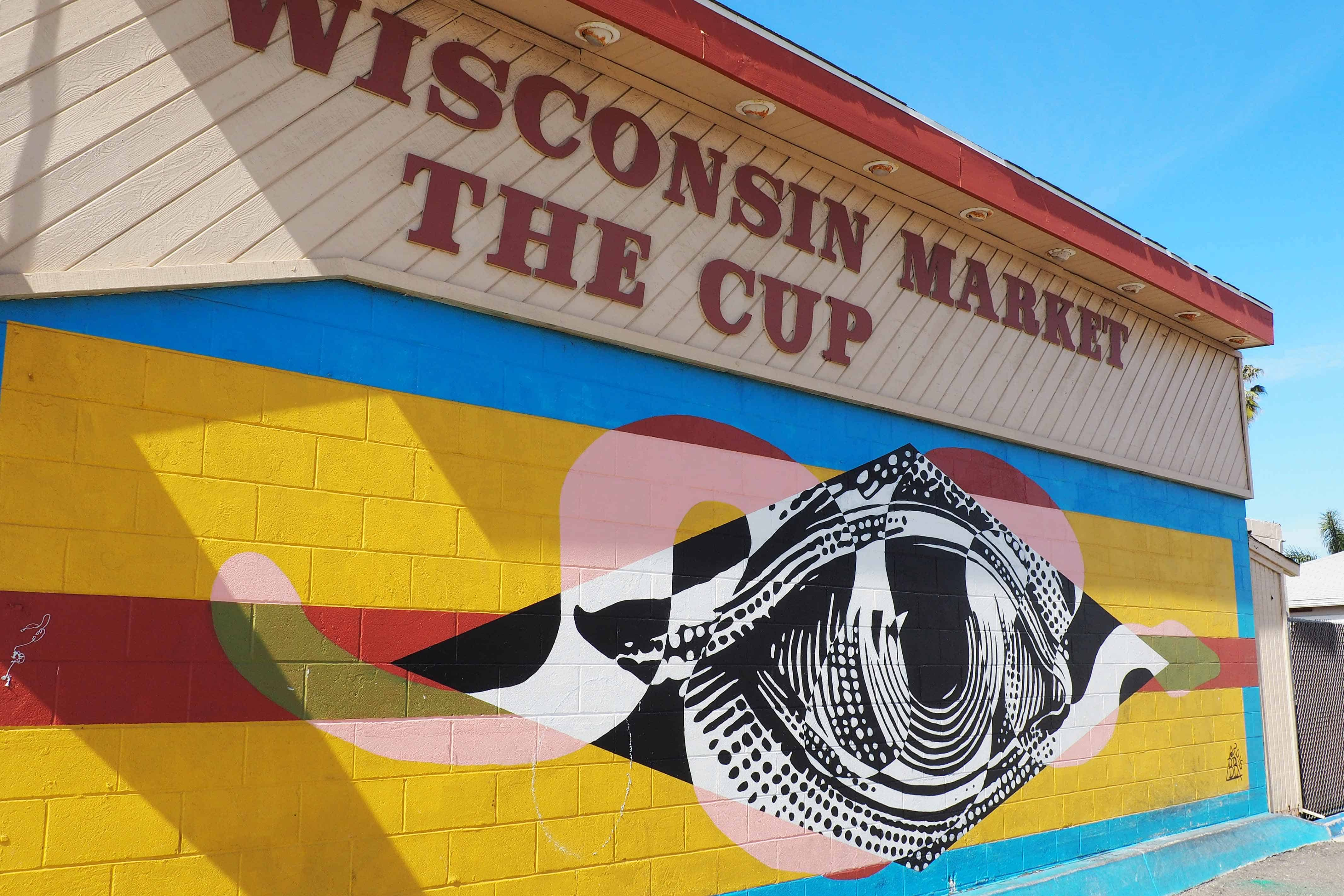 The Cup Outdoor Mural