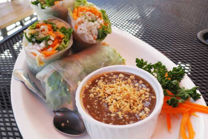 Rim Talay Vegan Fresh Rolls