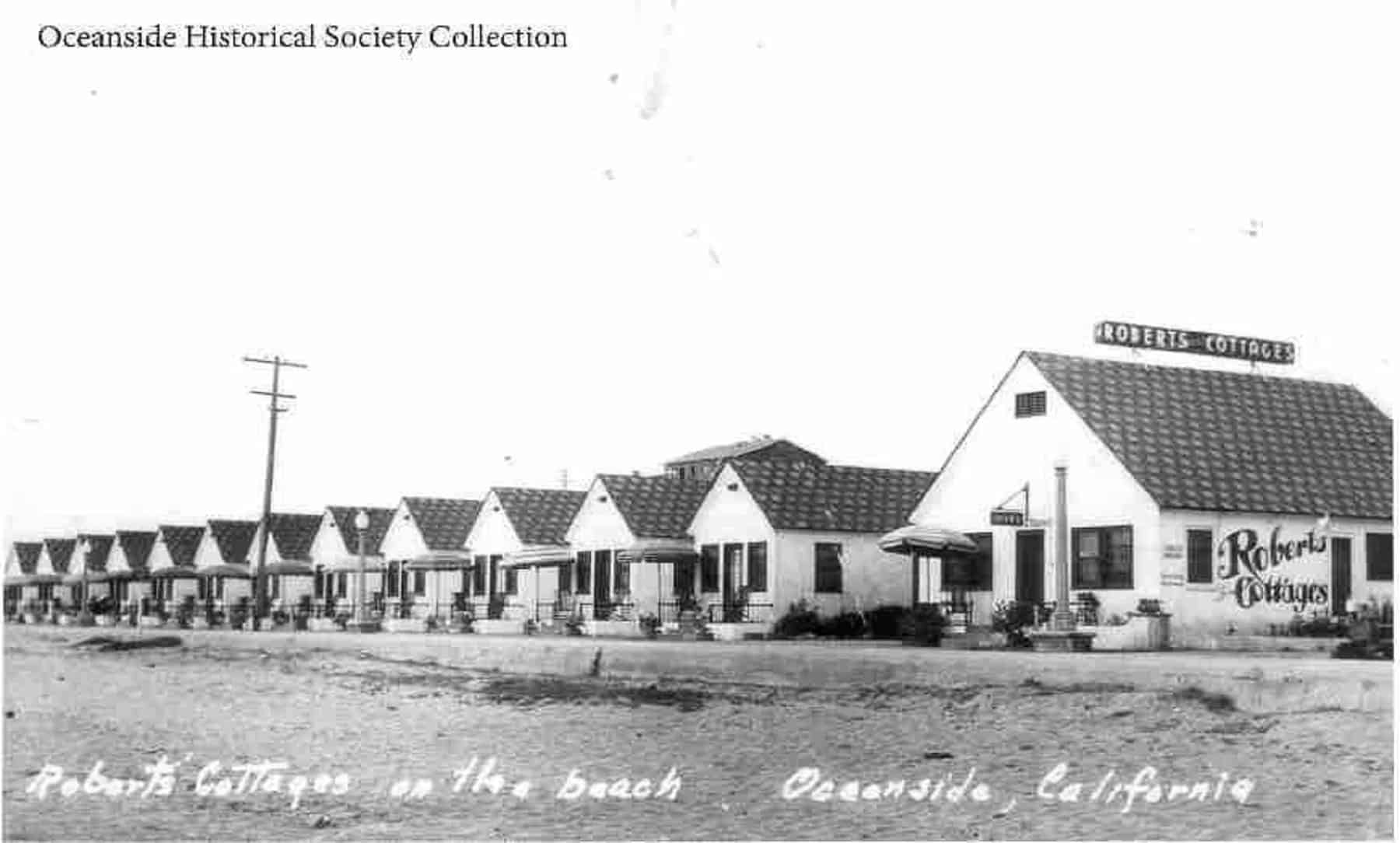 Roberts Cottages Oceanside (c. 1928)