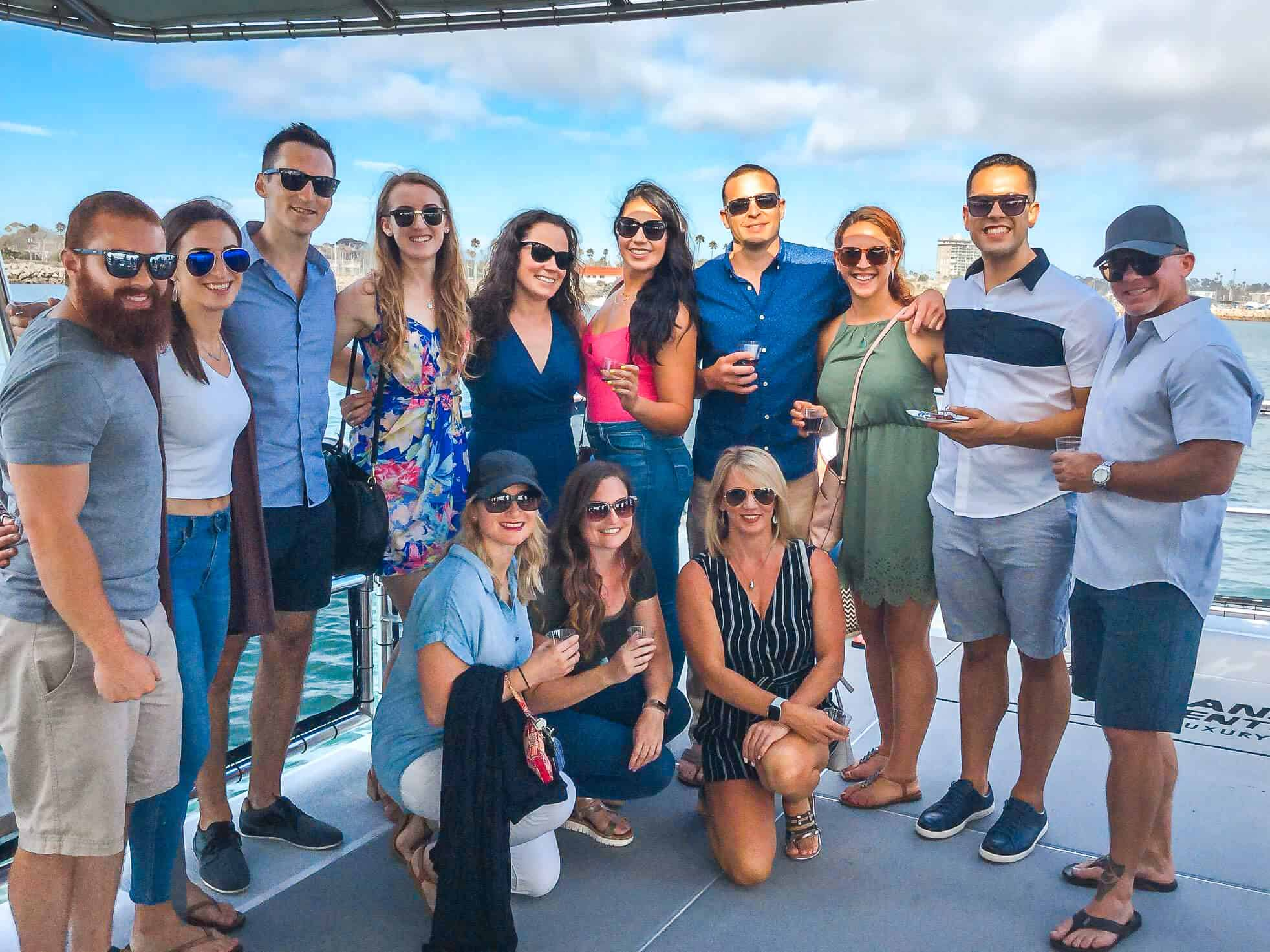 Harbor Wine Cruise with Oceanside Adventures