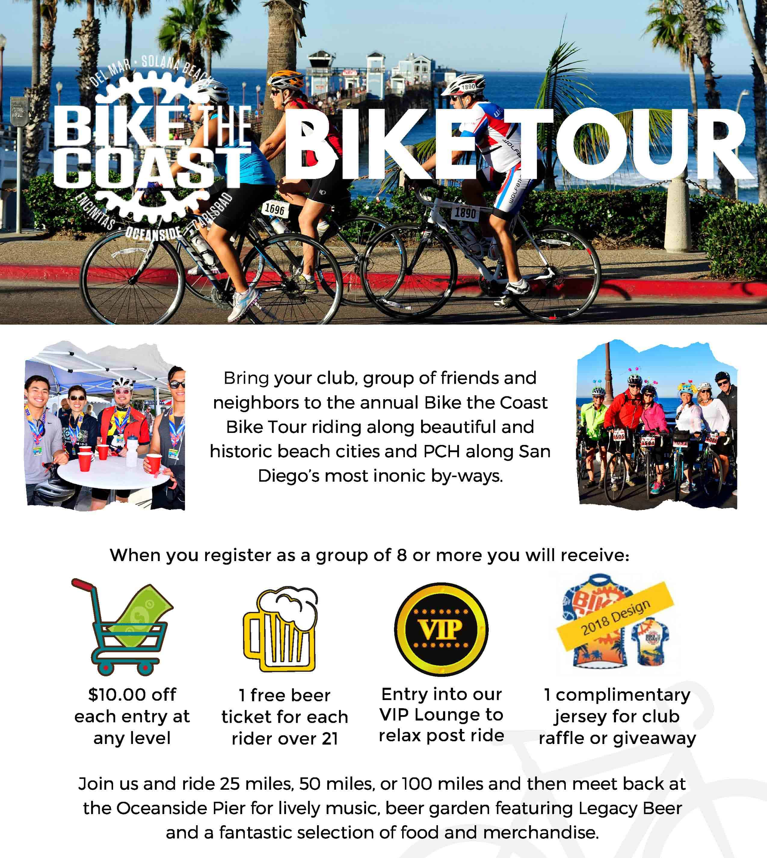 Bike the Coast Oceanside Cycling Event