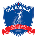 Oceanside Longboard Surfing Club Logo