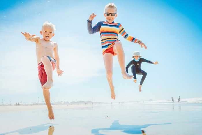 Kid Family Beach Home Page