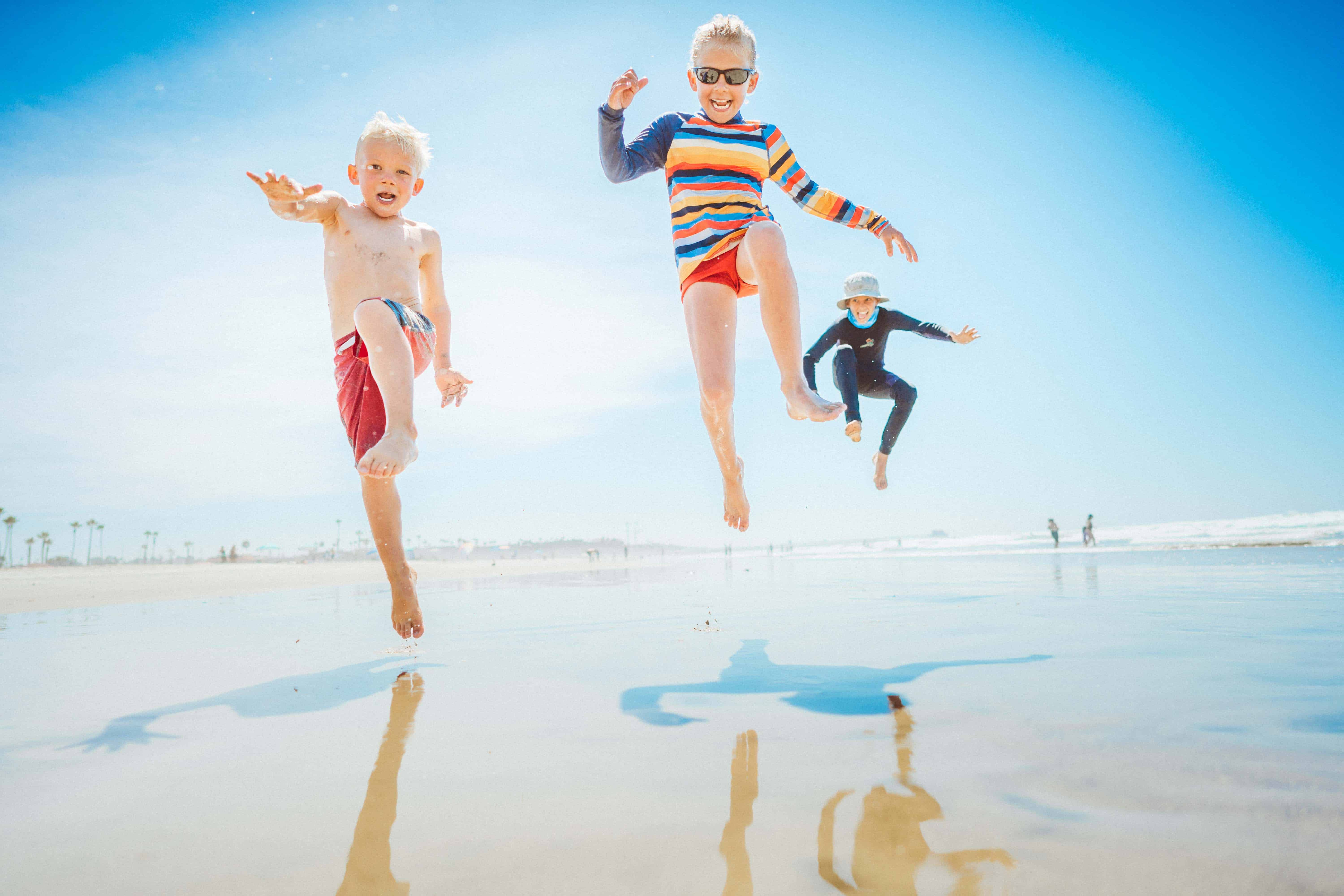 Kids - Family- Play at the Beach - Oceanside Pier