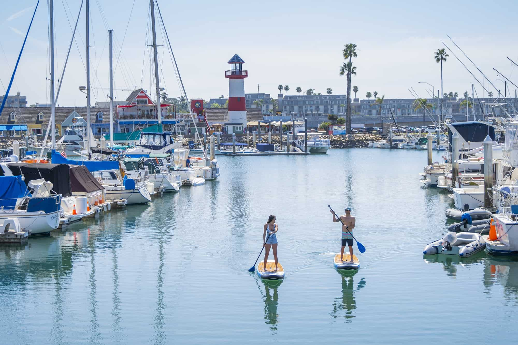 Oceanside Harbor SUP