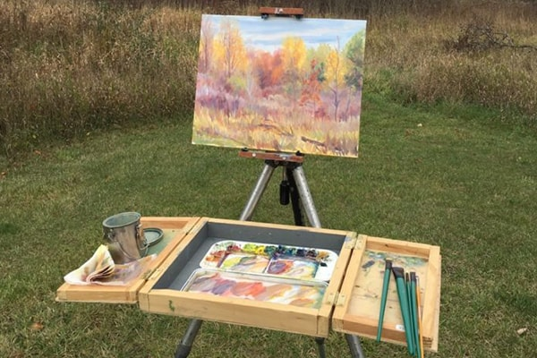 Painting with OMA Plein Air Paint In